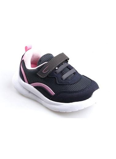Cool 20-S29 Gri Kız Çocuk Bebe Fileli Günlük Spor Ayakkabı Gri